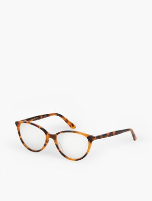 Charlestown Reading Glasses-Tortoiseshell