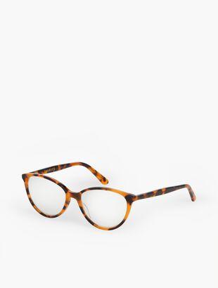 Charlestown Reading Glasses-Tortoiseshell
