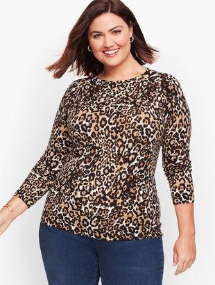 Merino Audrey Leopard Sweater