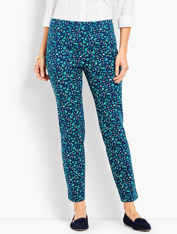 Talbots Chatham Ankle - Cascading Blossoms