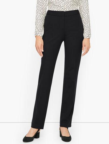 Italian Luxe Knit Talbots Cambridge Straight Leg Pants