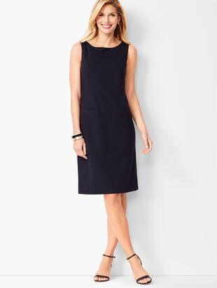Italian Luxe Knit Sheath Dress