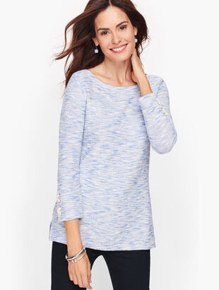 Cozy Terry Top - Marled Sparkle