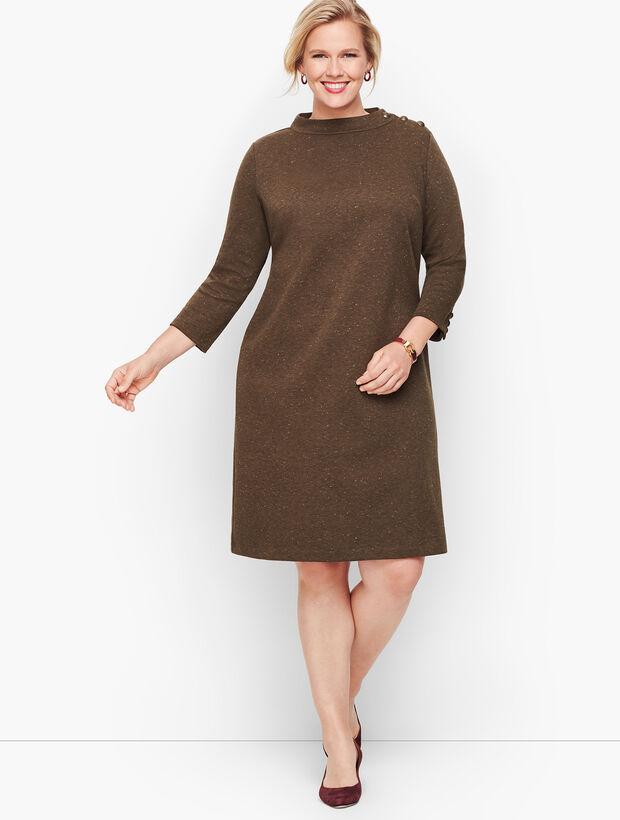 Heathered Shift Dress