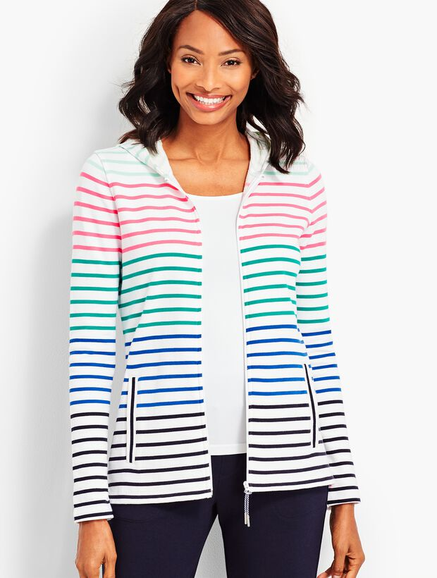 Everyday Stripe Hoodie