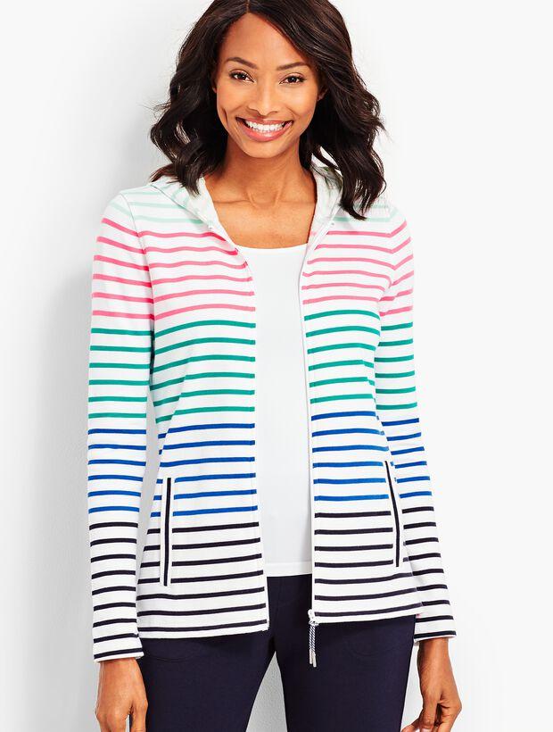 Everyday Stripe Hoodie