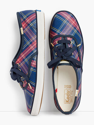 Talbots Exclusive Plaid Keds® Champion Sneakers