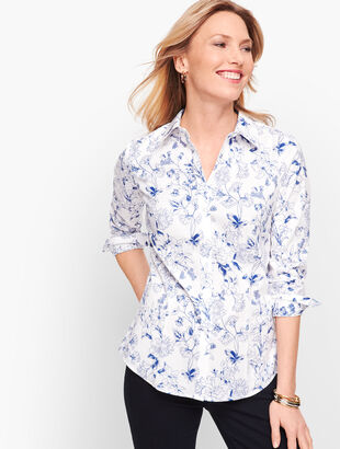 Perfect Shirt - Floral Sketch