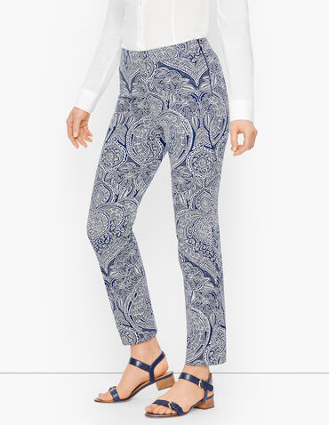 Talbots Chatham Ankle Pants - Floral