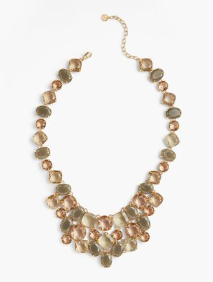 Neutral Crystals Necklace