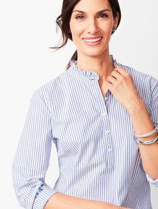 Classic Cotton Popover - Stripe