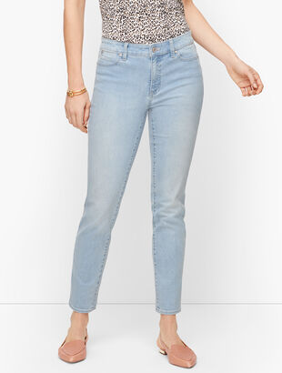 Slim Ankle Jeans - Curvy Fit - Skillman Wash