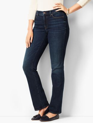 High-Rise Barely Boot Jeans - Pioneer Wash - Curvy Fit