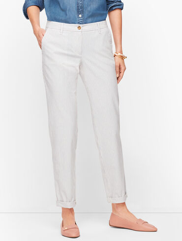 Relaxed Chinos - Stripe