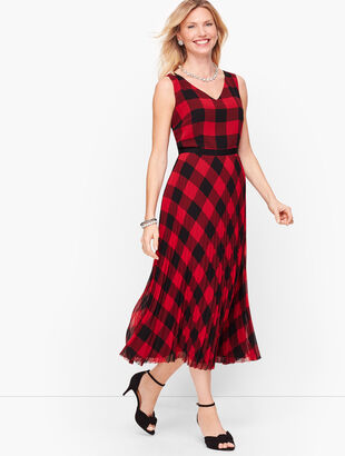 Buffalo Check Dress