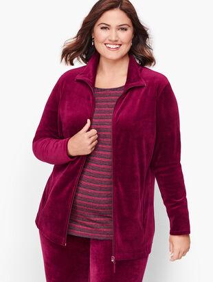 Luxe Velour Jacket