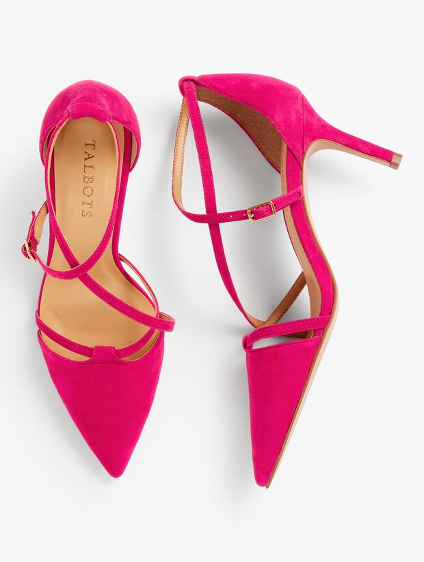 Erica Strappy Pumps