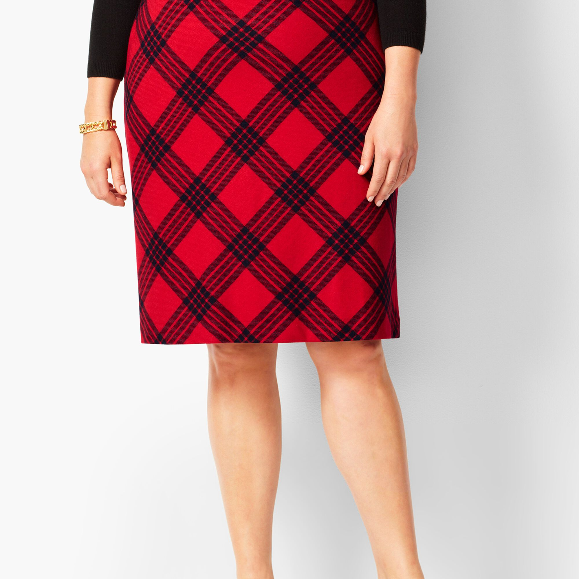 ea6d696dcb Images. Twill A-Line Skirt - Country Plaid