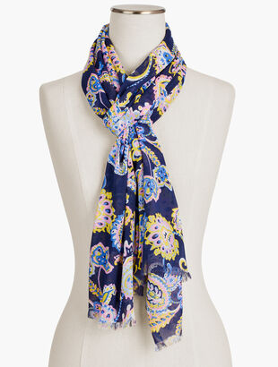 Lively Paisley Scarf