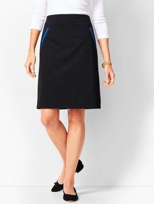 Modcloth Aspiration Creation A Line Skirt In Vibrant Rainbow