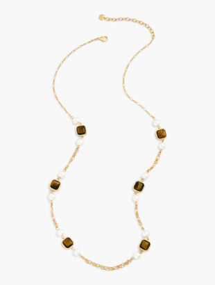 Tiger's Eye Layering Necklace