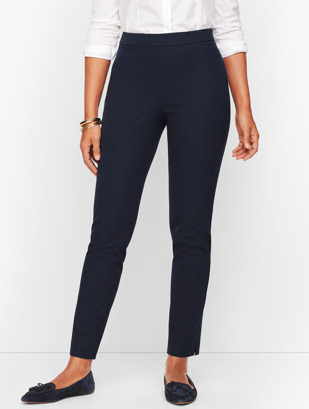 Talbots Chatham Ankle Pant - Solid - Curvy Fit