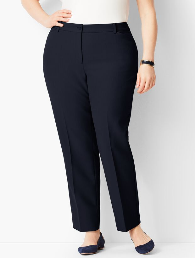 ecbe8041a4 Plus Size High-Waist Tailored Ankle Pant - Curvy Fit