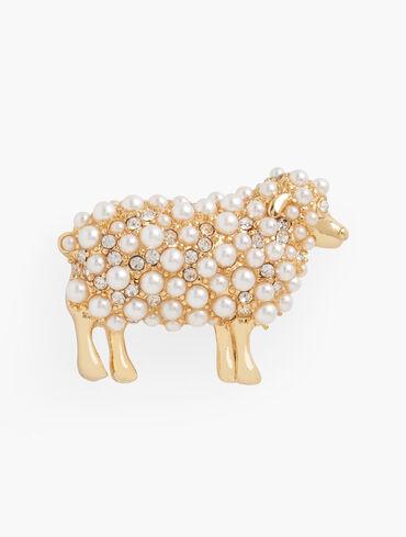 Counting Sheep Brooch