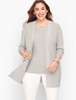 Textured Cardigan - Shimmer