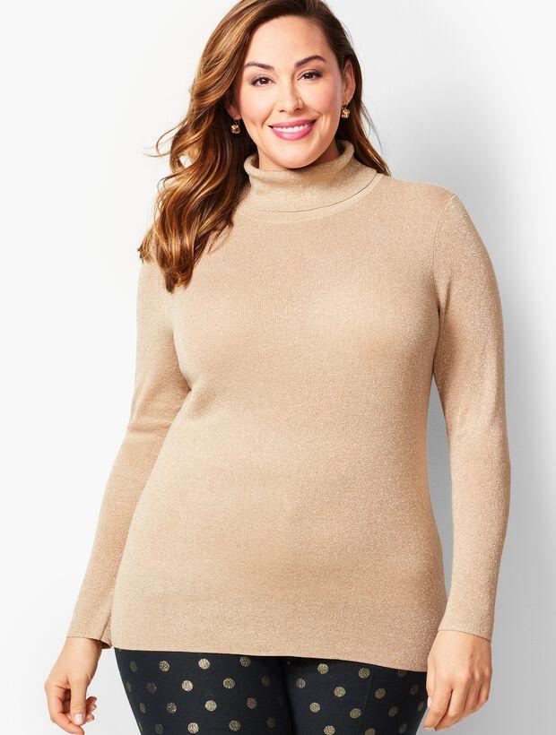 Sparkle Turtleneck Sweater
