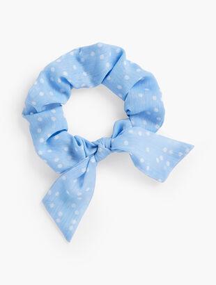 Tie Hair Scrunchie