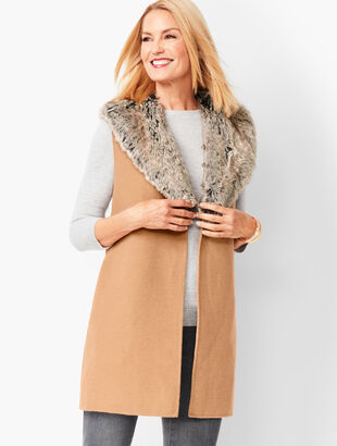 Double-Face Wool Vest