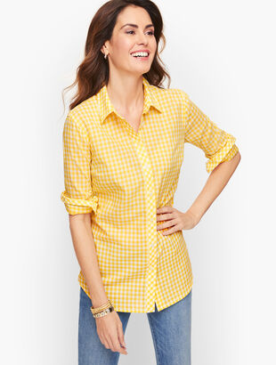 Classic Cotton Shirt - Basic Gingham