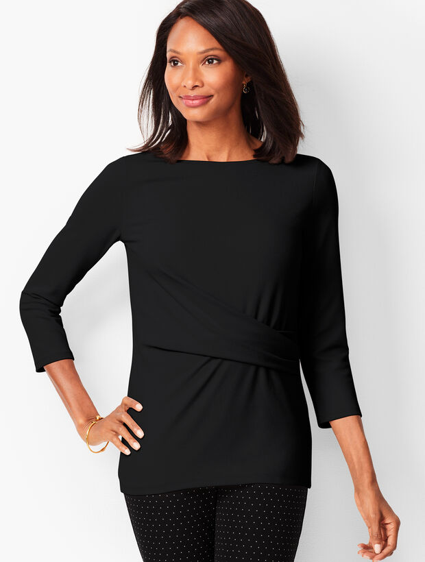 Side-Ruched Tee