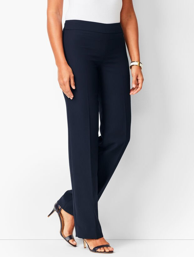 Talbots Seasonless Crepe Wide-Leg Pants