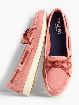 Sperry(R) Canvas Boat Shoes
