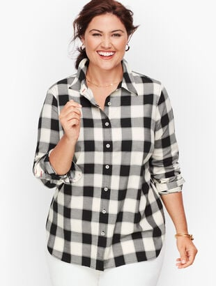 Classic Cotton Shirt - Buffalo Check