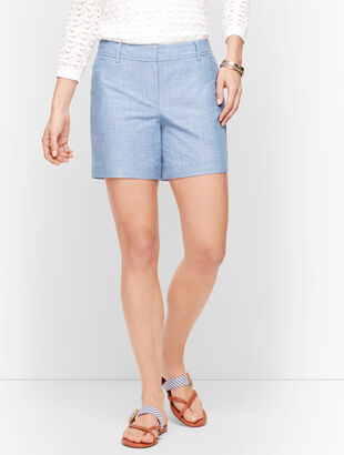 "Perfect Shorts - 5"" - Chambray"