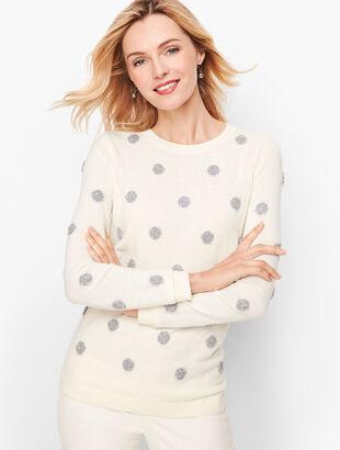 Tinsel Dot Sweater