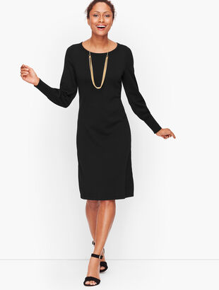 Poet Sleeve Sweater Dress