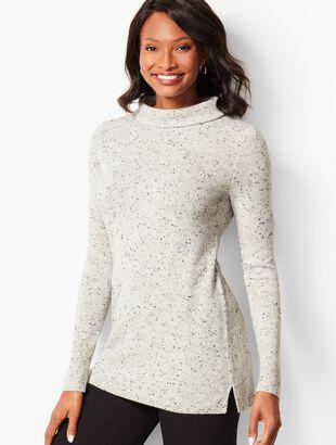 Sabrina Cashmere Sweater-Donegal