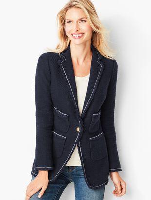 Framed Tweed Jacket