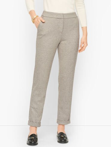Luxe Donegal Roll Cuff Pants