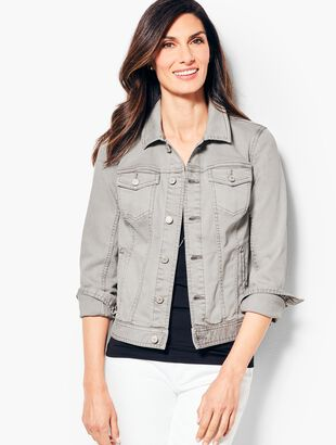 The Classic Colored Denim Jacket