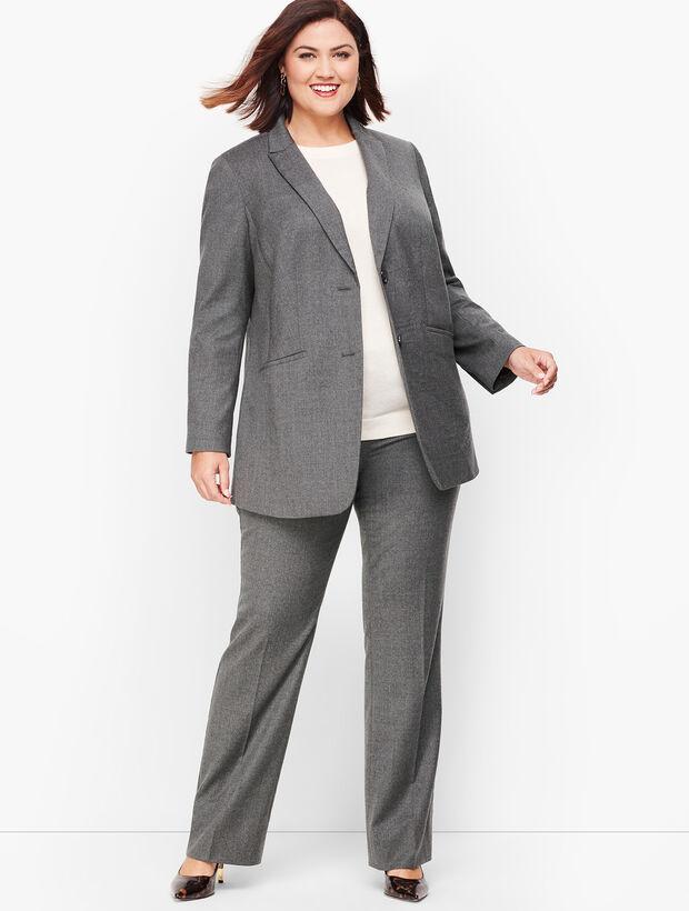 Italian Luxe Flannel Blazer