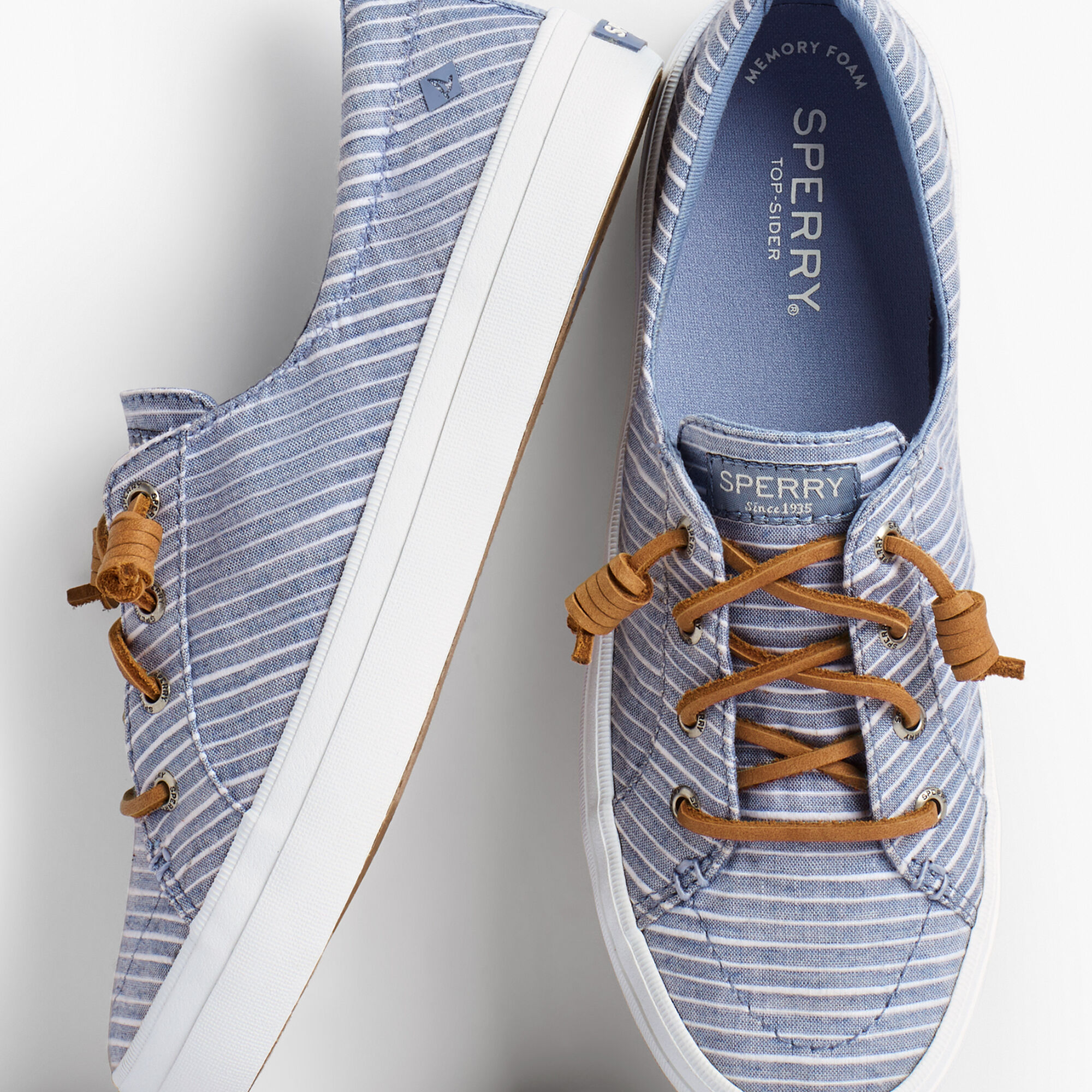 df03519ddf6a6 Sperry(R) Crest Vibe Sneakers - Cotton | Talbots