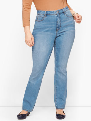Plus Size Exclusive Straight Leg Jeans - Fillmore Wash