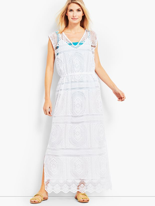 Lace Maxi Dress Cover-Up