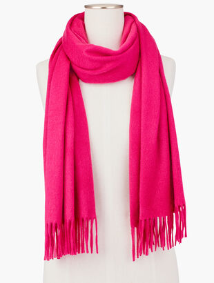 Pure Cashmere Scarf - Solid
