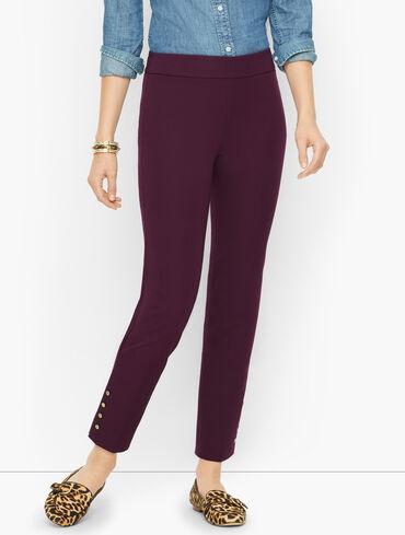 Talbots Chatham Ankle Pants - Button Hem